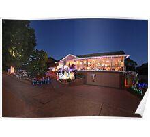 Christmas Lights, Duffy ACT Poster