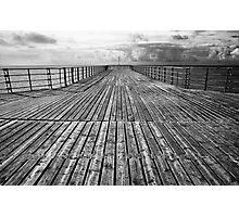 Pier Symmetry Photographic Print