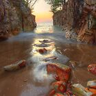 Dripstone Stepping Stones by Andrew Brooks