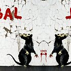 Fitzrovia Rat mirror image by Respire