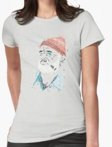 Zissou of Fish Womens Fitted T-Shirt