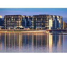 Lakefront Apartments Photographic Print