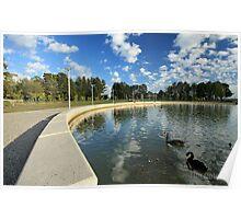 Emu Inlet, Lake Ginninderra Poster
