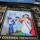 Pub Sign of The Royal Oak, Fishguard, Wales, UK by buttonpresser