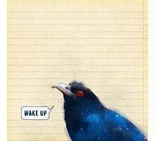 Bird Notes: Wake Up Photographic Print