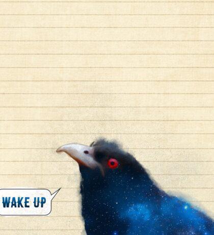 Bird Notes: Wake Up Sticker