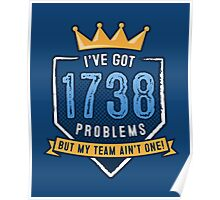 1738 Problems Poster