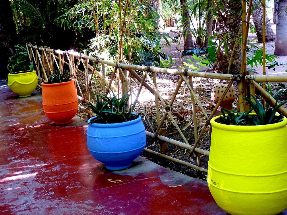 Primary colors for potted plants by bubblehex08