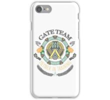 SG1 Gate Team Member In Training Colour With Gate Symbols iPhone Case/Skin