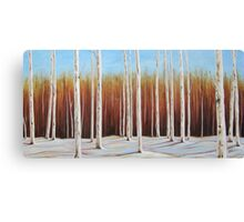 Birch 2, Collingwood, Ontario 60x30 Acrylic Canvas Print