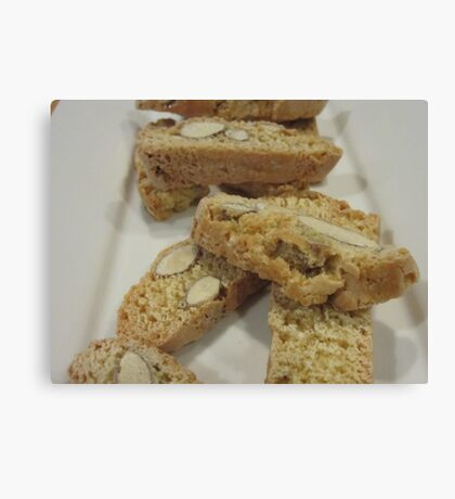 Moreish Biscotti  Canvas Print