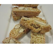 Moreish Biscotti  Photographic Print