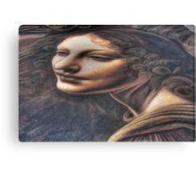 Street da Vinci Canvas Print