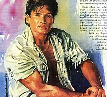 Sunil Shetty by Channa Gorokgahagoda