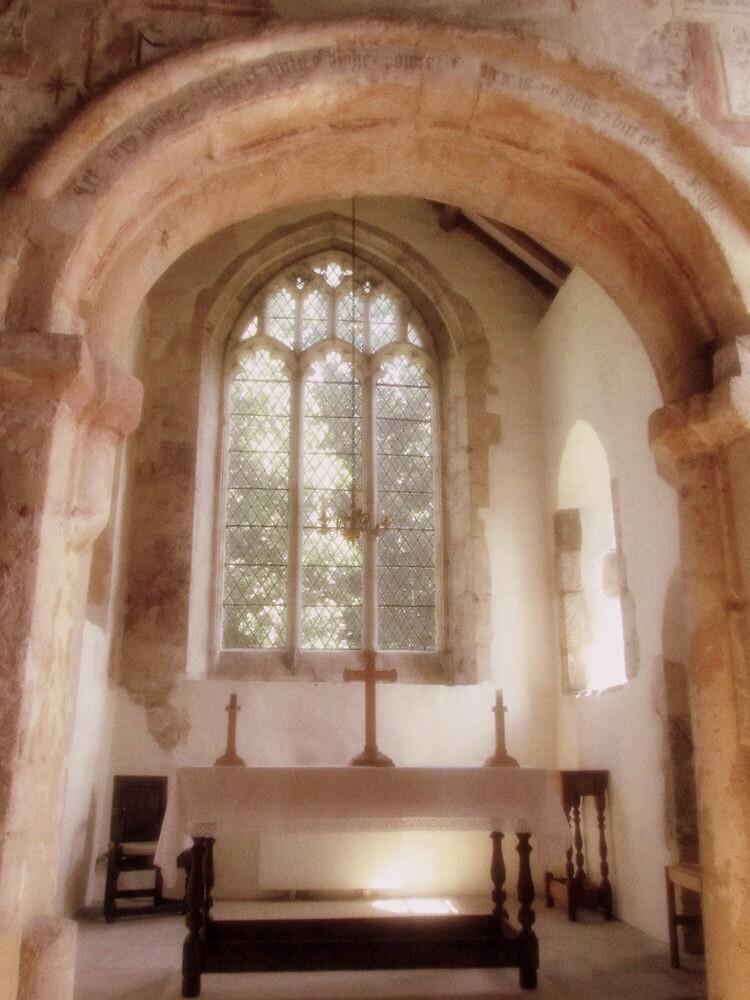 St. Martins on the Walls, Wareham, Dorset, England by Patty Gross