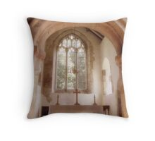 St. Martins on the Walls, Wareham, Dorset, England Throw Pillow