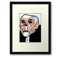 HALLOWEEN GEEVES, THE CARETAKER  Framed Print