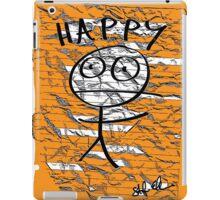 HAPPY STICKMAN iPad Case/Skin