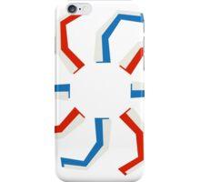 Spiral Toriod Pattern 2 iPhone Case/Skin