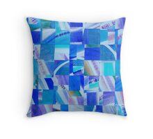 Electric Mosaic Throw Pillow
