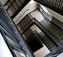 Downward Spiral by kflanary