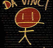 DA VINCI STICKMAN by squigglemonkey