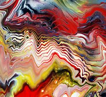 Abstract Acrylic Fluid Effects by markchadwick