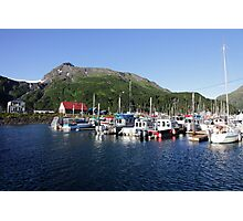 Whittier Harbor Photographic Print