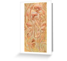 Alternative Flow, primordial abstraction 1 Greeting Card