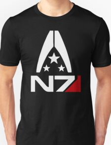 Mass Effect  Alliance N7 logo T-Shirt