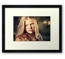 And she has a heart of gold, too. Framed Print
