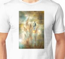 Visit to An Unknown World - Image and Poem Unisex T-Shirt