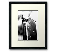 Cold Trigger  Framed Print