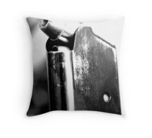 Cold Trigger  Throw Pillow