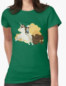 Espresso Tina Womens Fitted T-Shirt