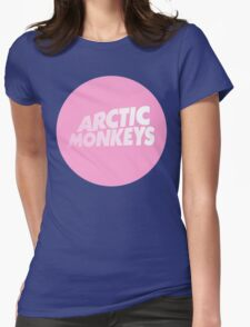 ARTIC MONKEYS PINK Womens Fitted T-Shirt
