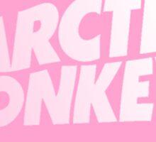 ARTIC MONKEYS PINK Sticker