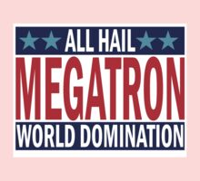 Megatron Campaign for World Domination One Piece - Short Sleeve