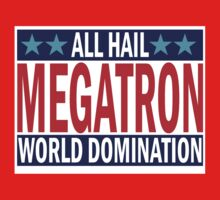 Megatron Campaign for World Domination Baby Tee