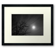 Reach for the Stars - Krause Springs Framed Print