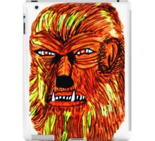 BEWARE THE WEREWOLF iPad Case/Skin