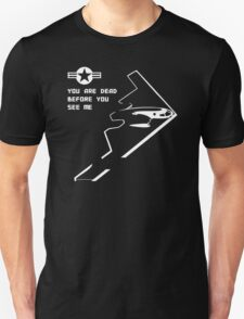 Northrop Grumman B-2 Spirit Stealth Bomber US Air Force T-Shirt
