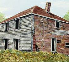 The Dahl House - Ghost Town of Jackfish Ontario Canada  by loralea