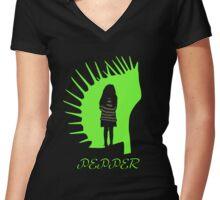 Pepper Women's Fitted V-Neck T-Shirt
