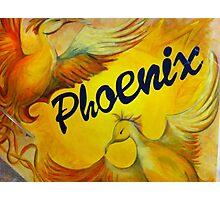Phoenix Art Work Photographic Print