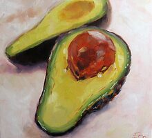 Avocados by Elizabeth Whiteman