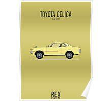 Toyota Celica TA22 Poster