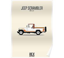 Jeep CJ-8 Scrambler Poster