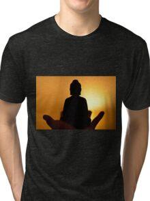 Buddha Light Tri-blend T-Shirt