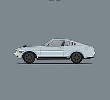 Toyota Celica RA28 by RexDesigns